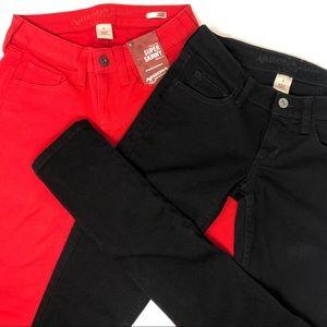 NWT Arizona Jean Company 2 Pairs SuperSkinny Jeans